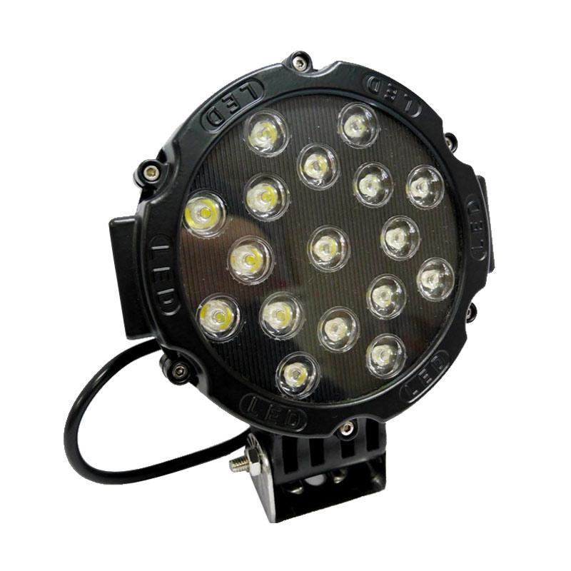 ESCORT GT1015-51W LED Lampu Sorot Mobil - Black [51 W]