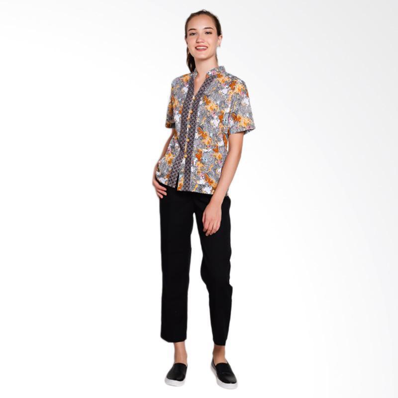 NRC 012-182 Atasan Batik with Celana Panjang Setelan Seragam Suster