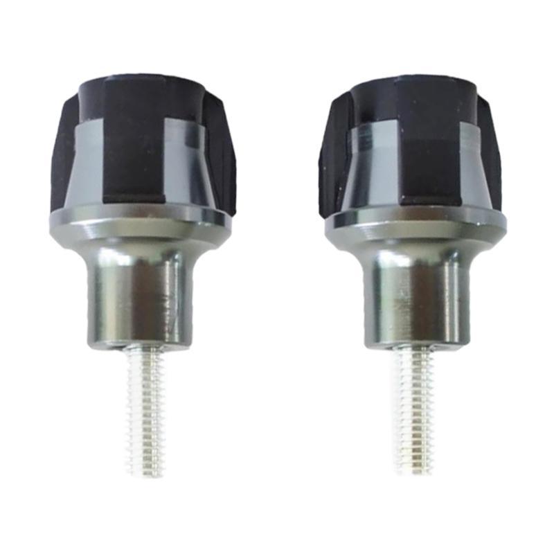 Raja Motor Almunium Universal Baut Variasi Cover Body - Titanium-Hitam [BVA3001-Titanium-Hitam]