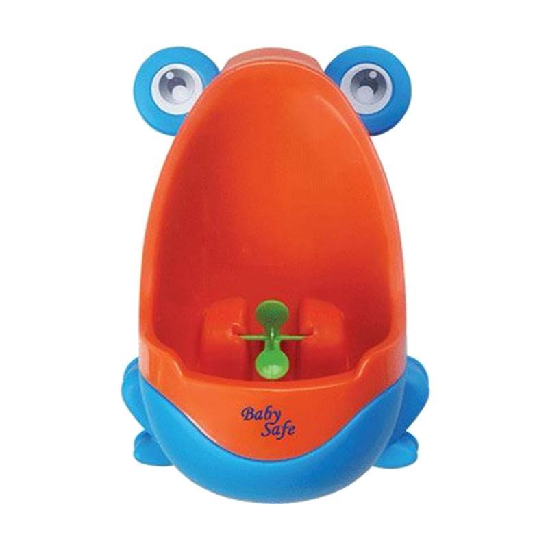Baby Safe UF001 Boys Frog Training Potty - Orange