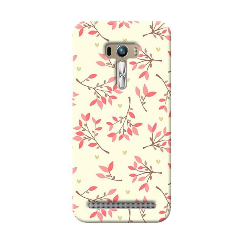 Premiumcaseid Case Cute Floral Seamless Shabby Hardcase Casing for Asus Zenfone Selfie