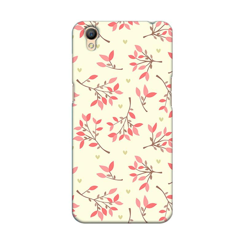Premiumcaseid Cute Floral Seamless Shabby Hardcase Casing for Oppo Neo 9 A37