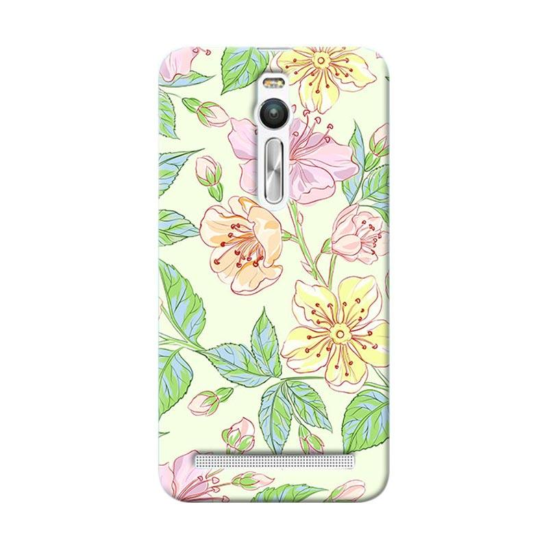 Premiumcaseid Beautiful Flower Wallpaper Hardcase Casing for Asus Zenfone 2