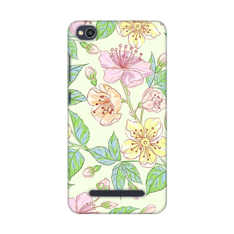 Premiumcaseid Beautiful Flower Wallpaper Hardcase Casing for Xiaomi Redmi 4A