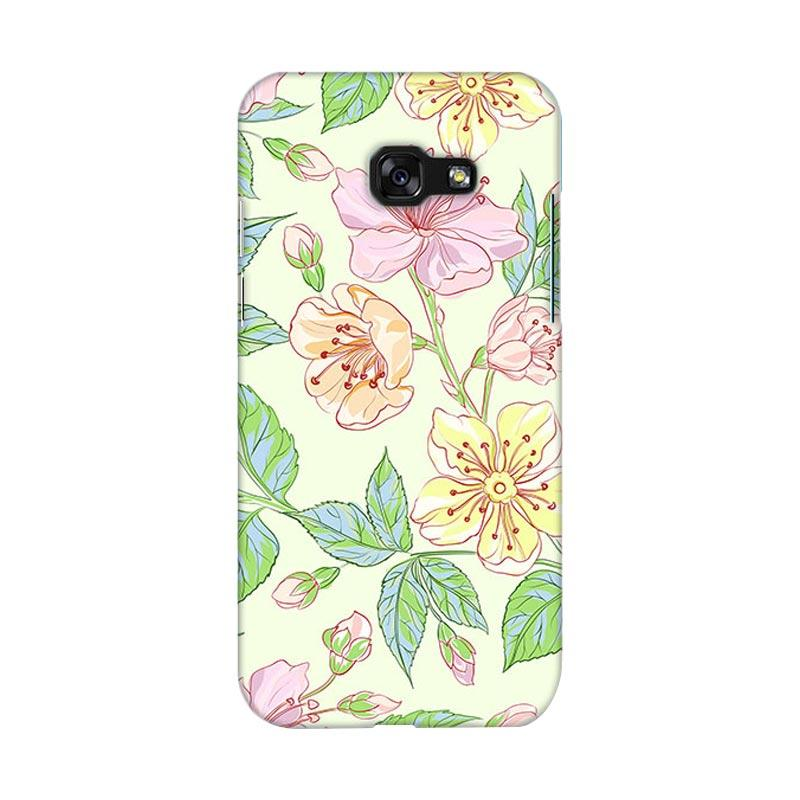 Premiumcaseid Beautiful Flower Wallpaper Hardcase Casing for Samsung Galaxy A3 2017