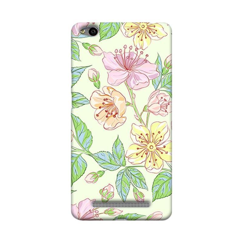 Premiumcaseid Beautiful Flower Wallpaper Hardcase Casing for Xiaomi Redmi 3
