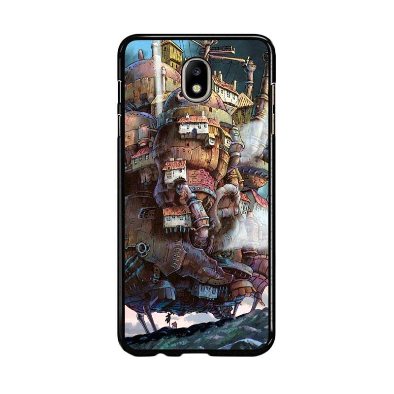 Flazzstore Howl's Moving Castle Z0087 Custom Casing for Samsung Galaxy J7 Pro 2017 - Multicolor