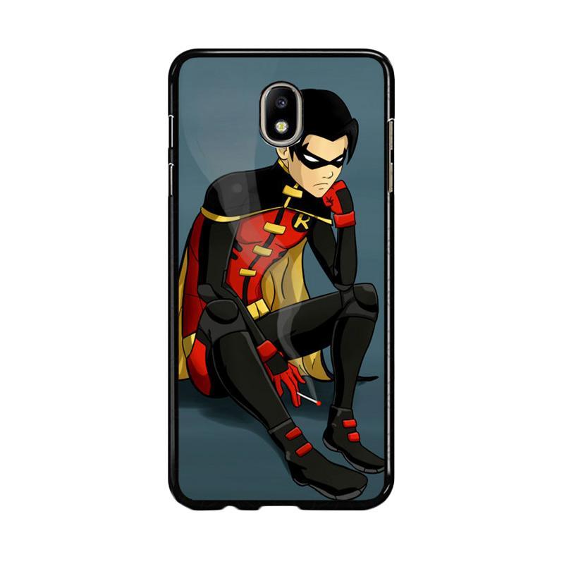 Flazzstore Robin Superhero Z0306 Custom Casing for Samsung Galaxy J7 Pro 2017 - Multicolor