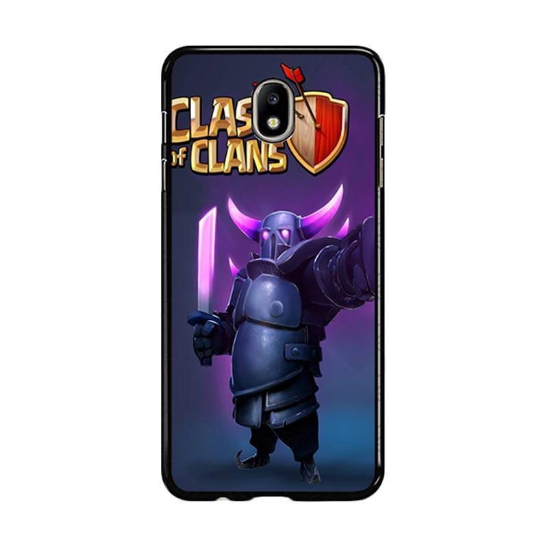 Flazzstore Clash Of Clans Pekka Z0236 Custom Casing for Samsung Galaxy J5 Pro 2017 - Purple