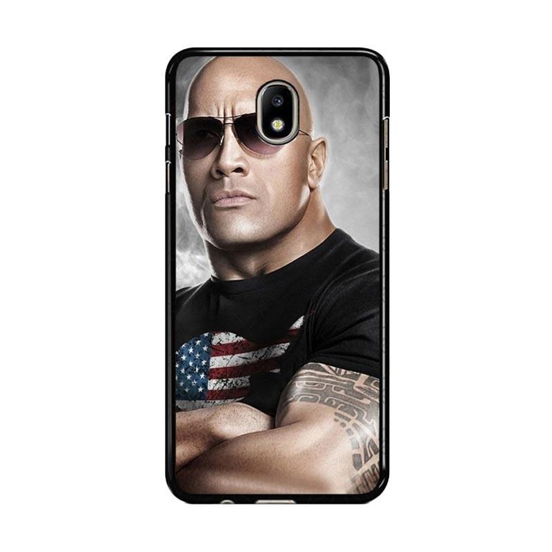 Flazzstore The Rock Dwayne Johnson Z0786 Custom Casing for Samsung Galaxy J5 Pro 2017