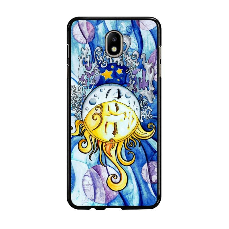 Flazzstore Sun And Moon Z1074 Custom Casing for Samsung Galaxy J7 Pro 2017