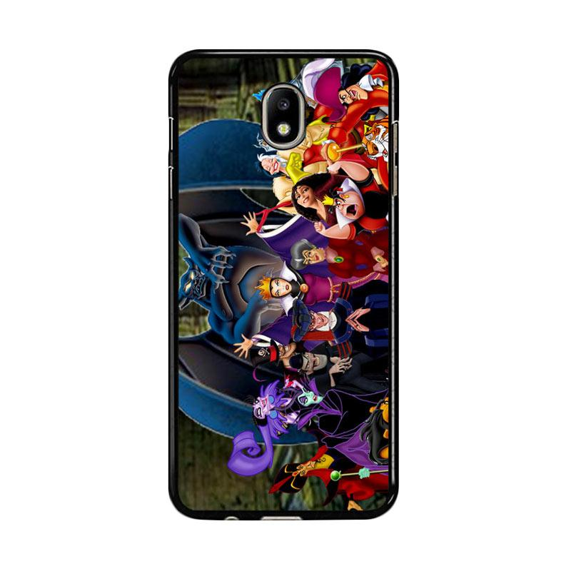 Flazzstore New Disney Villains Z1466 Custom Casing for Samsung Galaxy J7 Pro 2017