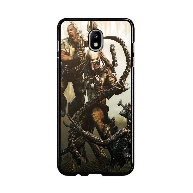 Flazzstore Alien Vs Predator Z0997 Custom Casing for Samsung Galaxy J5 Pro 2017