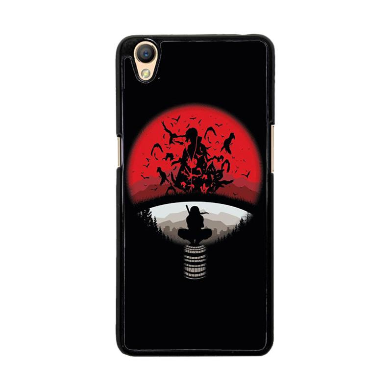 Flazzstore Uchiha Clan Symbol mashup with Itachi O0420 Custom Casing for Oppo Neo 9 or Oppo A37