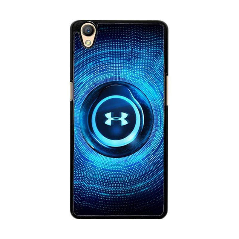Flazzstore Under Armor Light Blue O0856 Custom Casing for Oppo Neo 9 A37