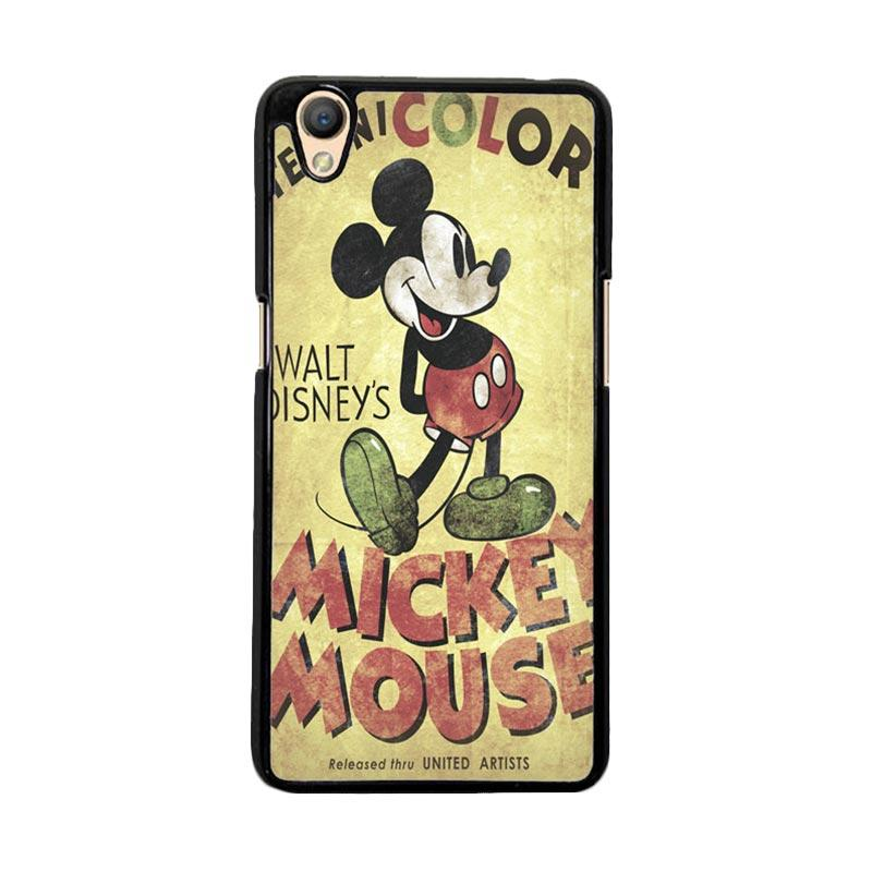 Flazzstore Retro Mickey Mouse F0214 Custom Casing for Oppo Neo 9 or Oppo A37