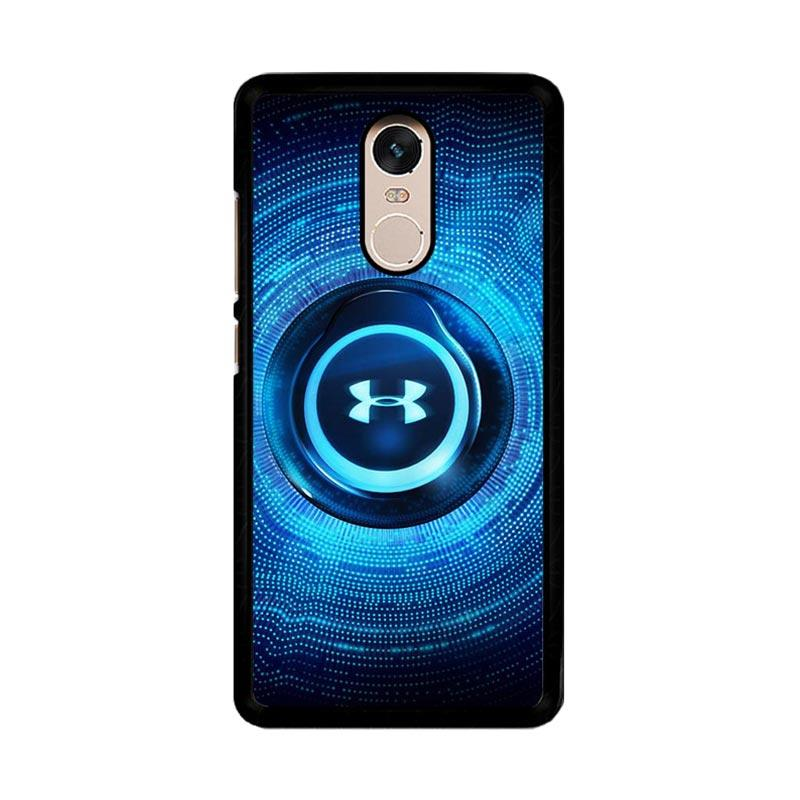 Flazzstore Under Armor Light Blue O0856 Custom Casing for Xiaomi Redmi Note 4 or Note 4X Snapdragon Mediatek