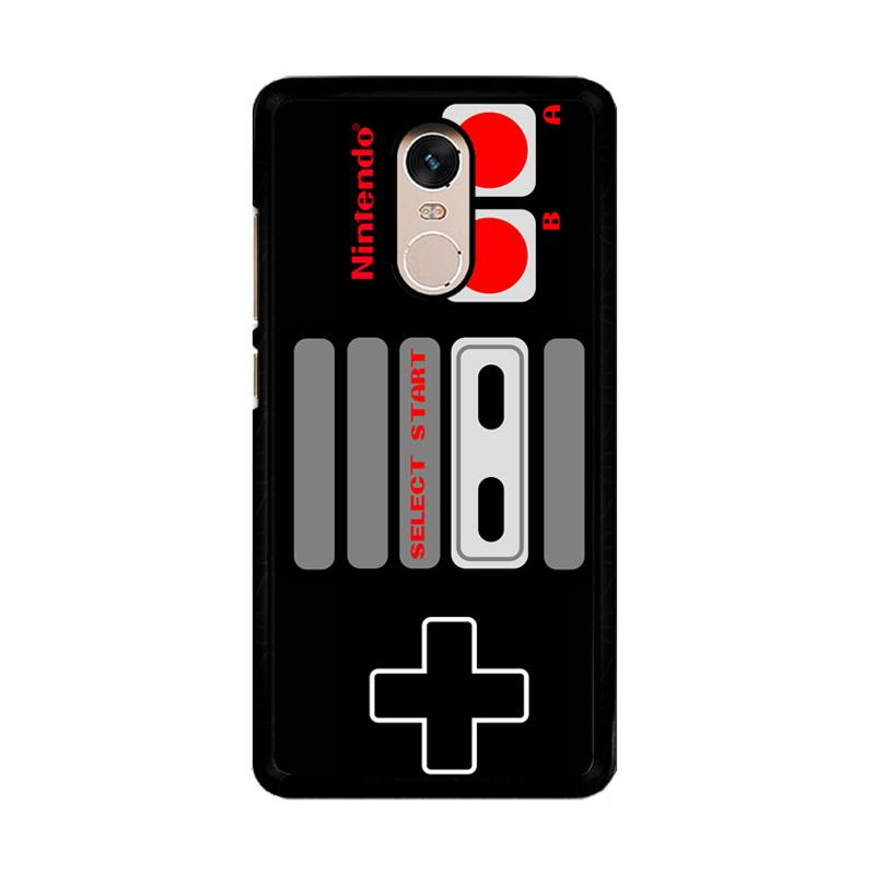 Flazzstore Nintendo Controller F0259 Custom Casing for Xiaomi Redmi Note 4 or Note 4X Snapdragon Mediatek