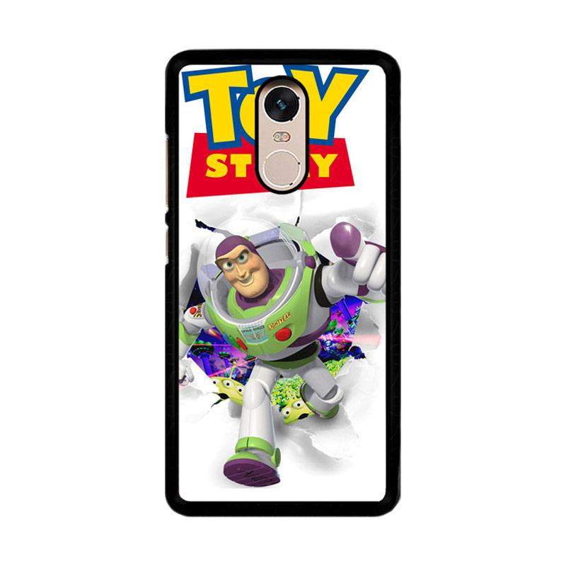 Flazzstore Rare Toy Story Buzz Lightyear F0612 Custom Casing for Xiaomi Redmi Note 4 or Note 4X Snapdragon Mediatek