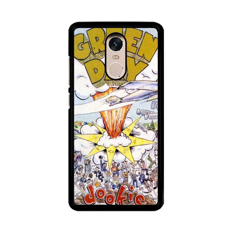 Flazzstore Green Day Dookie Design F0453 Custom Casing for Xiaomi Redmi Note 4 or Note 4X Snapdragon Mediatek