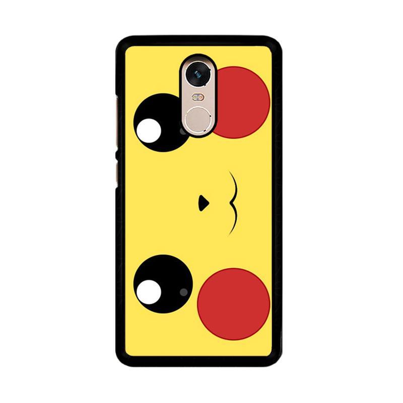 Flazzstore Pokemon Pikachu Poket Monster Case F0580 Custom Casing for Xiaomi Redmi Note 4 or Note 4X Snapdragon Mediatek