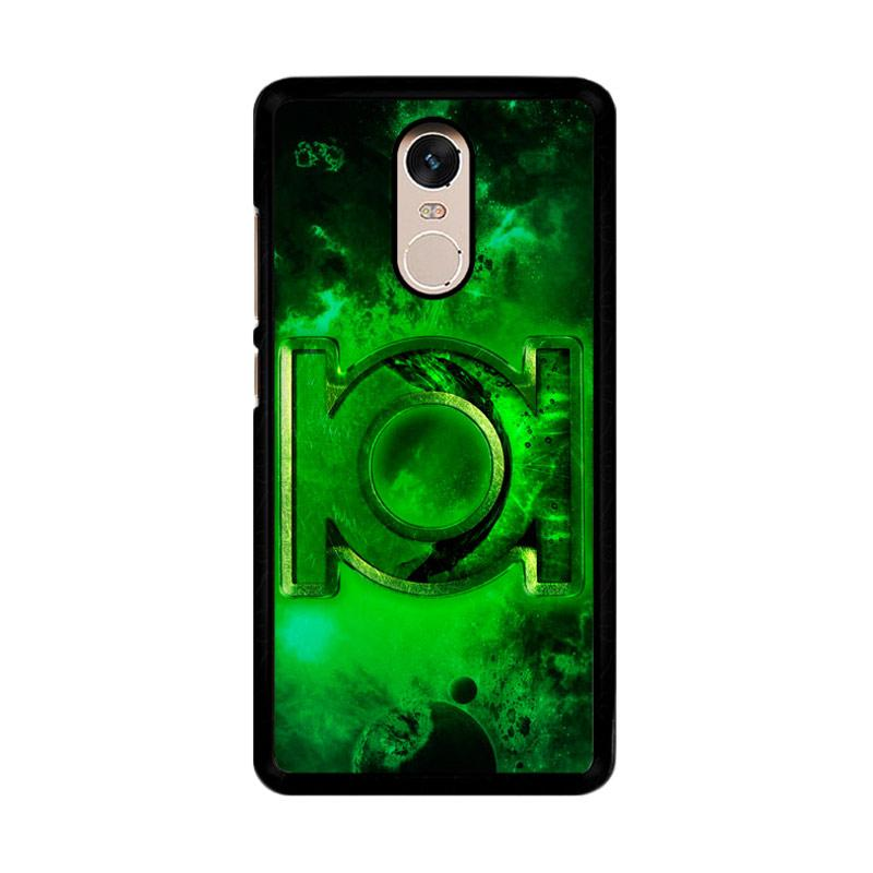 Flazzstore Green Lantern Symbol Z0137 Custom Casing for Xiaomi Redmi Note 4 or Note 4X Snapdragon Mediatek