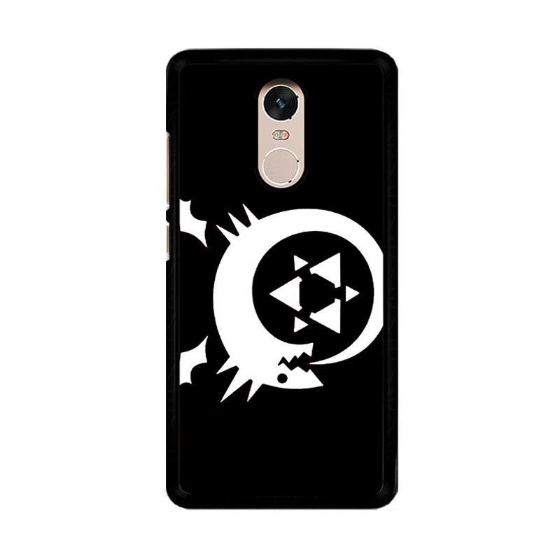 Flazzstore Fullmetal Alchemist Inspired Homunculus Z0180 Custom Casing for Xiaomi Redmi Note 4 or Note 4X Snapdragon Mediatek