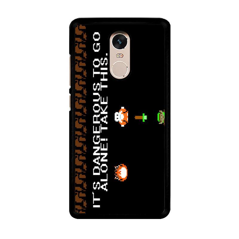 Flazzstore Legend Of Zelda Nintendo Nes Z0196 Custom Casing for Xiaomi Redmi Note 4 or Note 4X Snapdragon Mediatek
