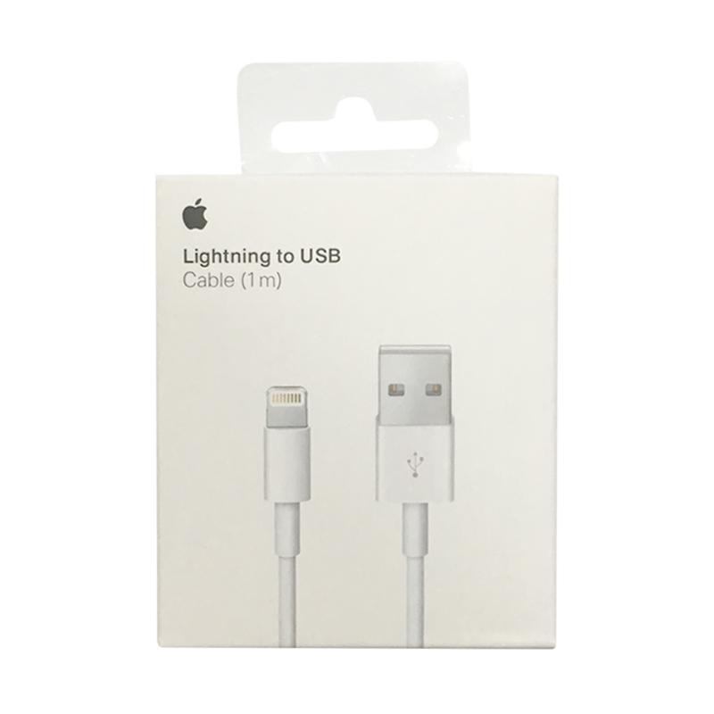 Apple Lightning Kabel Data - Putih [1 m/Original]