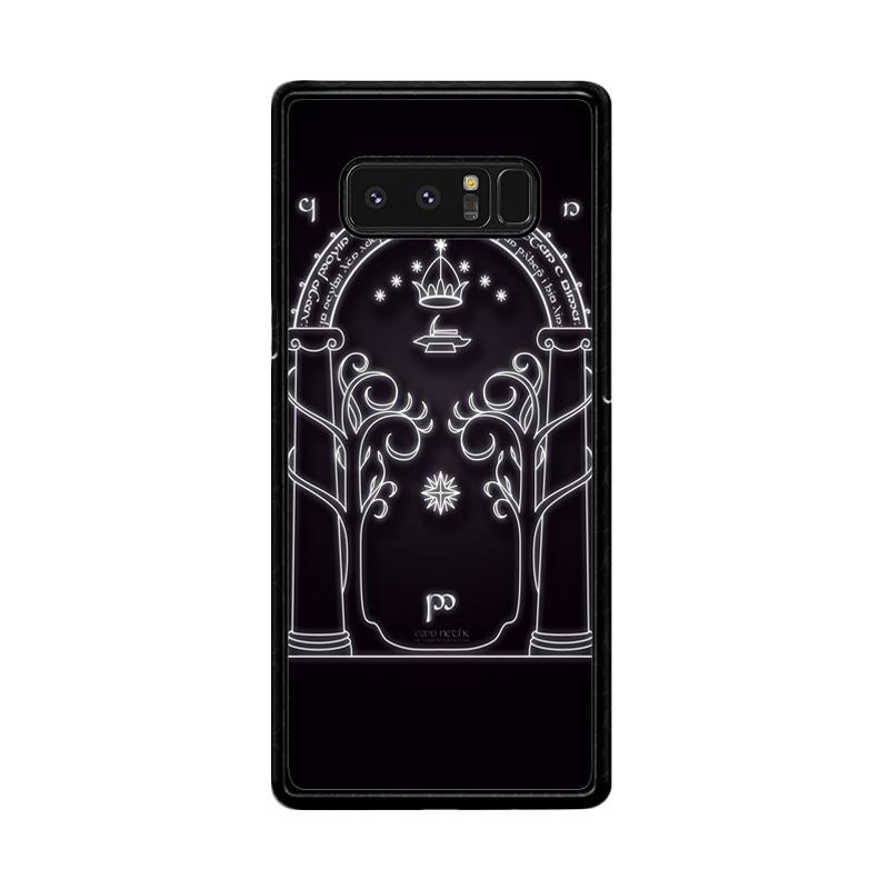 Flazzstore Magic Gate Of Moria Lord Of The Ring The Hobbit F0201 Custom Casing for Samsung Galaxy Note 8