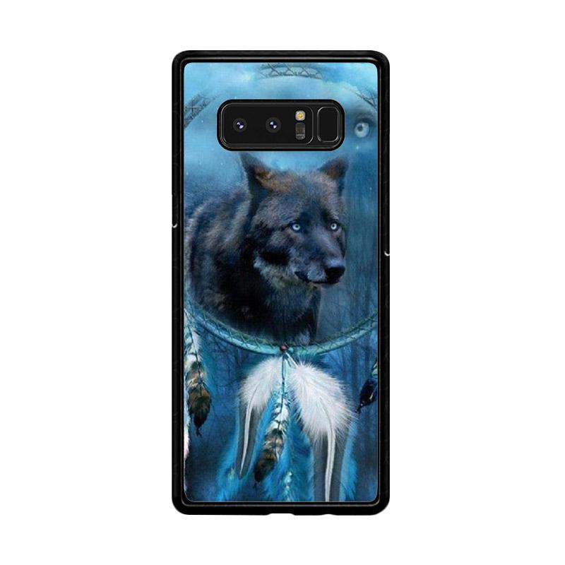Flazzstore Wolf Dream Catcher F0247 Custom Casing for Samsung Galaxy Note8