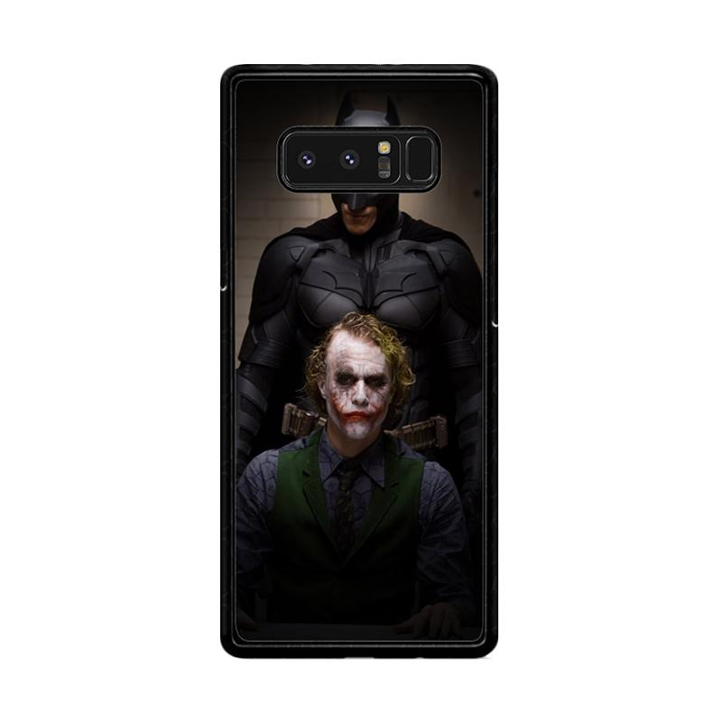 Flazzstore Batman And Joker In The Dark Knight F0321 Custom Casing for Samsung Galaxy Note8