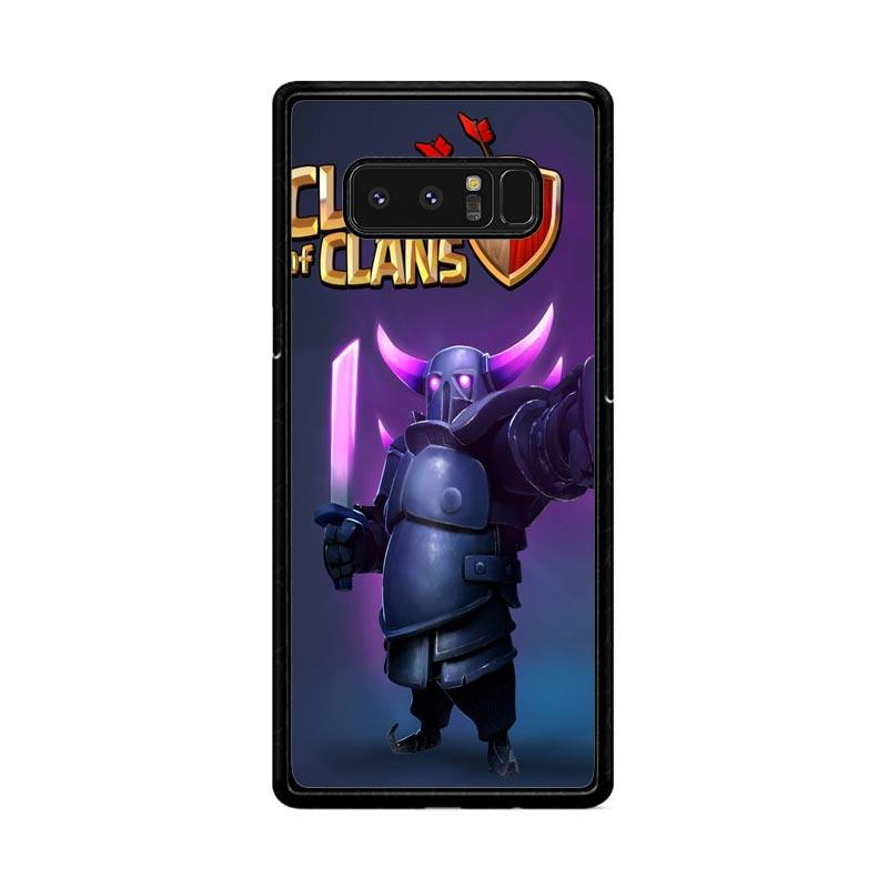 Flazzstore Clash Of Clans Pekka Z0236 Custom Casing for Samsung Galaxy Note8