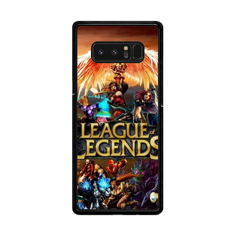 Flazzstore League Of Legends Cover Z0281 Custom Casing for Samsung Galaxy Note 8