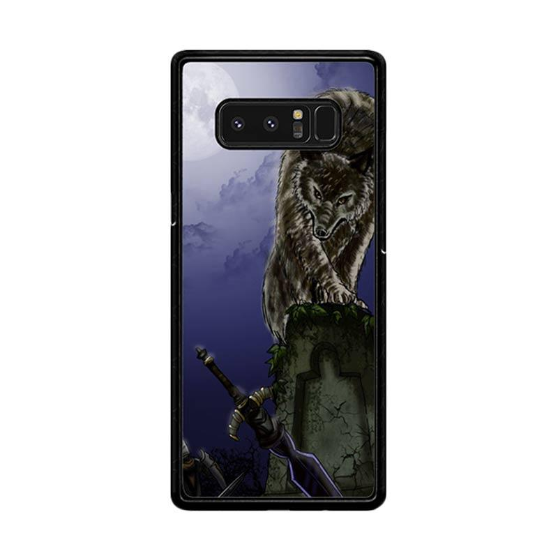 Flazzstore Great Grey Wolf Sif Puppy Z0311 Custom Casing for Samsung Galaxy Note8