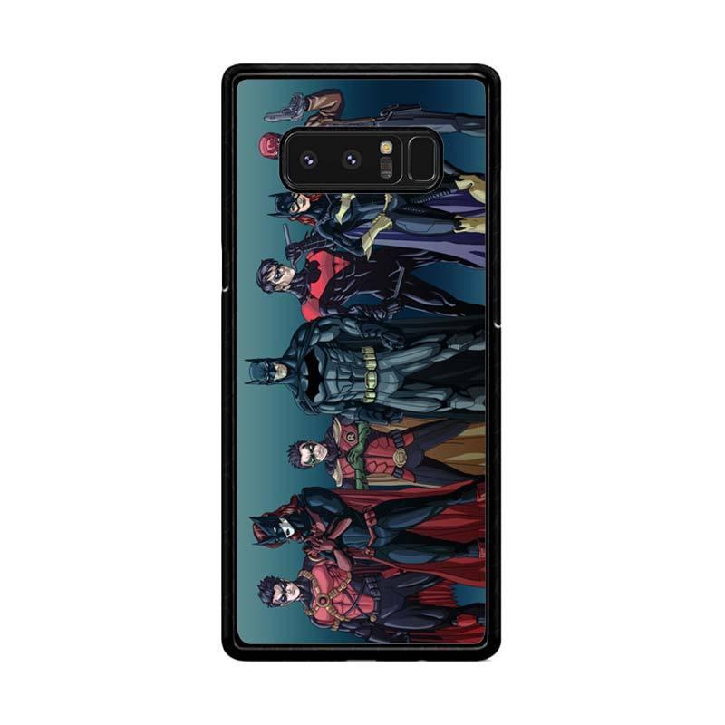 Flazzstore Batman Batfamily Z0351 Custom Casing for Samsung Galaxy Note8