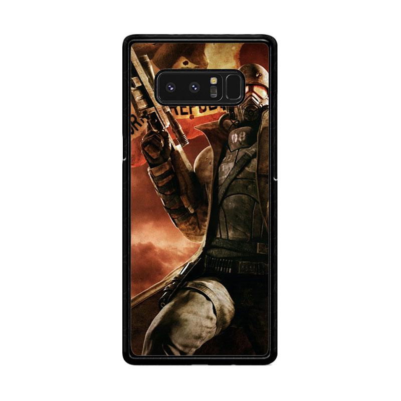 Flazzstore Fallout New California Republic Z1240 Custom Casing for Samsung Galaxy Note8