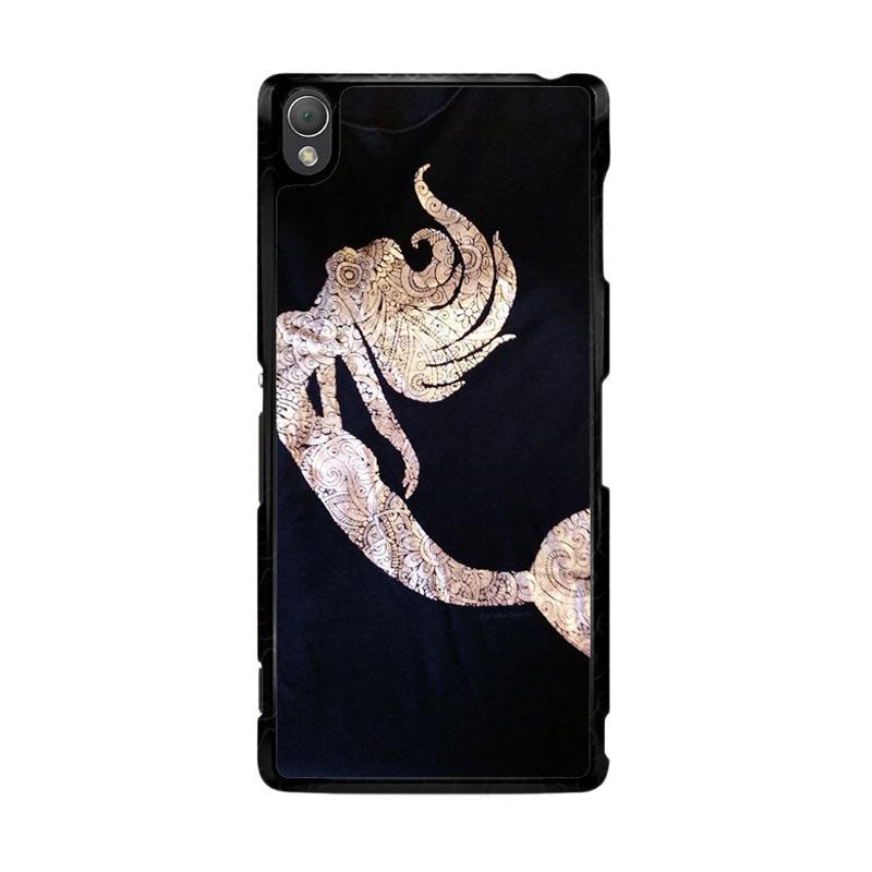 Flazzstore Mermaid Batik O0085 Custom Casing for Sony Xperia Z3