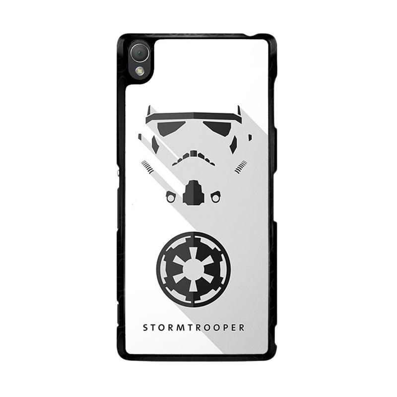 Flazzstore Stormtrooper O0246 Custom Casing for Sony Xperia Z3