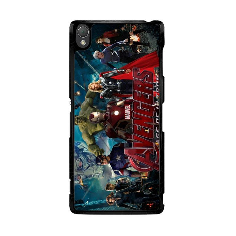 Flazzstore Avenger Age Of Ultron 1 F0328 Custom Casing for Sony Xperia Z3
