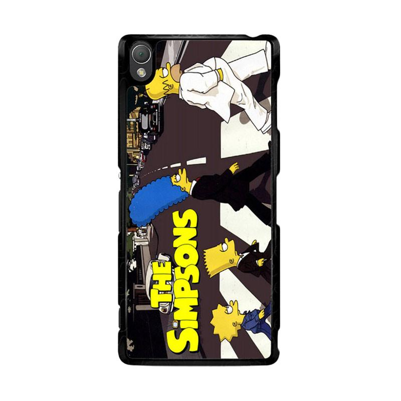 Flazzstore The Simpsons A Tribute The Beatles F0814 Custom Casing for Sony Xperia Z3