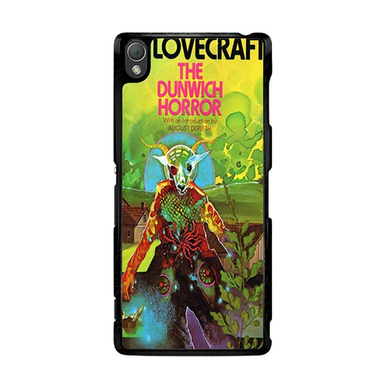 Flazzstore Hp Lovecraft Paperback Cover The Dunwich Horror Z0194 Custom Casing for Sony Xperia Z3