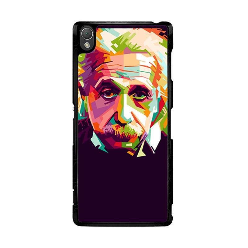 Flazzstore Albert Einstein In Wpap Art Z0318 Custom Casing for Sony Xperia Z3