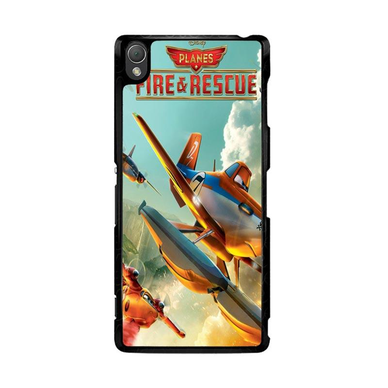 Flazzstore Disney Planes Fire And Rescue Z0899 Custom Casing for Sony Xperia Z3
