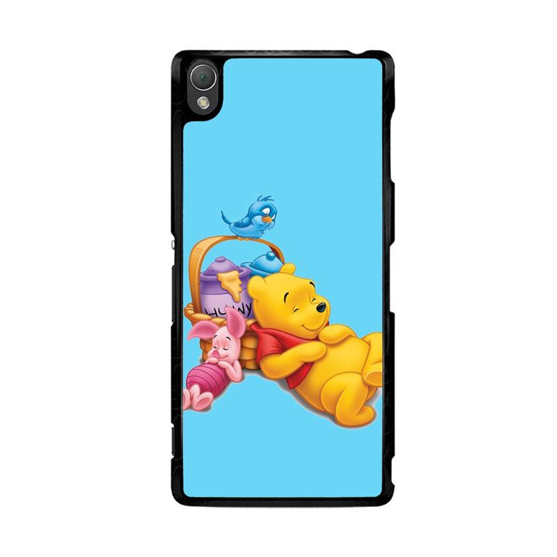 Flazzstore Funny Winnie The Pooh And Piglet Z1060 Custom Casing for Sony Xperia Z3