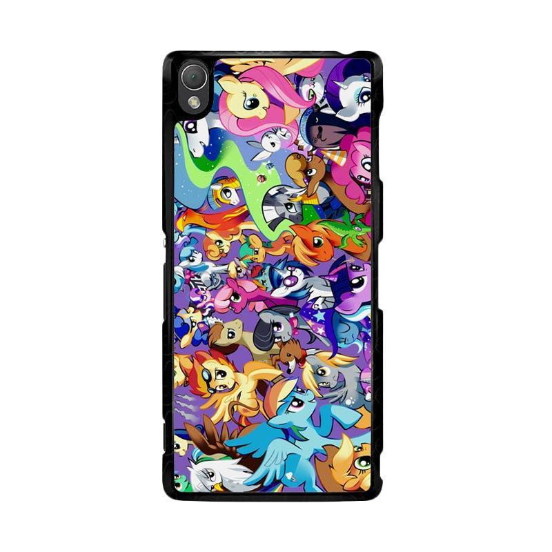 Flazzstore My Little Pony Collage Z1359 Custom Casing for Sony Xperia Z3