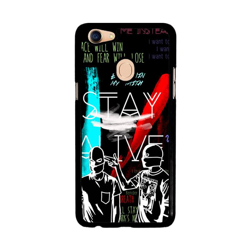 Flazzstore Twenty One Pilots Stay Alive Z2787 Custom Casing for Oppo F5