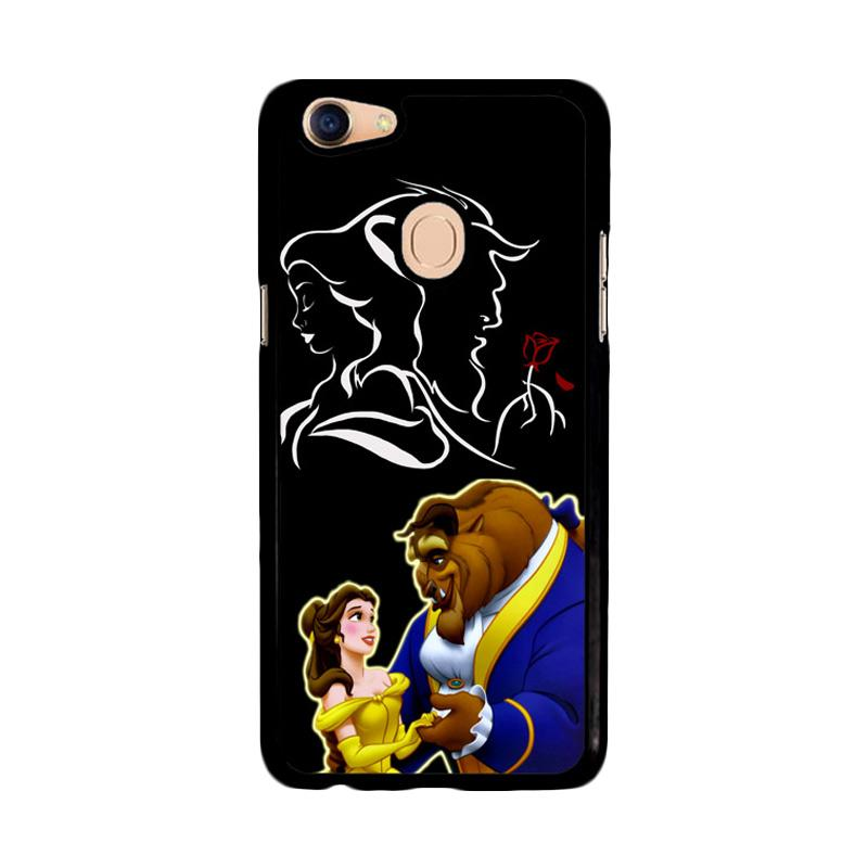 Flazzstore Disney Beauty And The Beast  Z2973 Custom Casing for Oppo F5