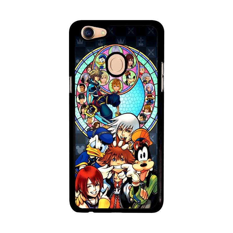 Flazzstore Kingdom Hearts Z3294 Custom Casing for Oppo F5