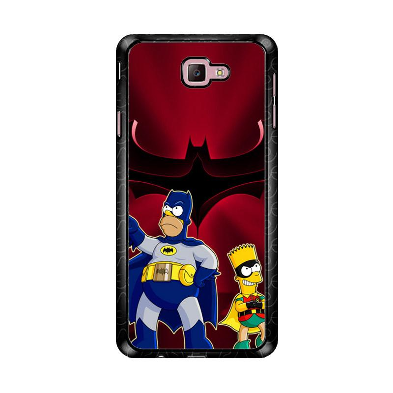 Flazzstore The Simpsons Batman Robin Z3321 Custom Casing for Samsung Galaxy J7 Prime